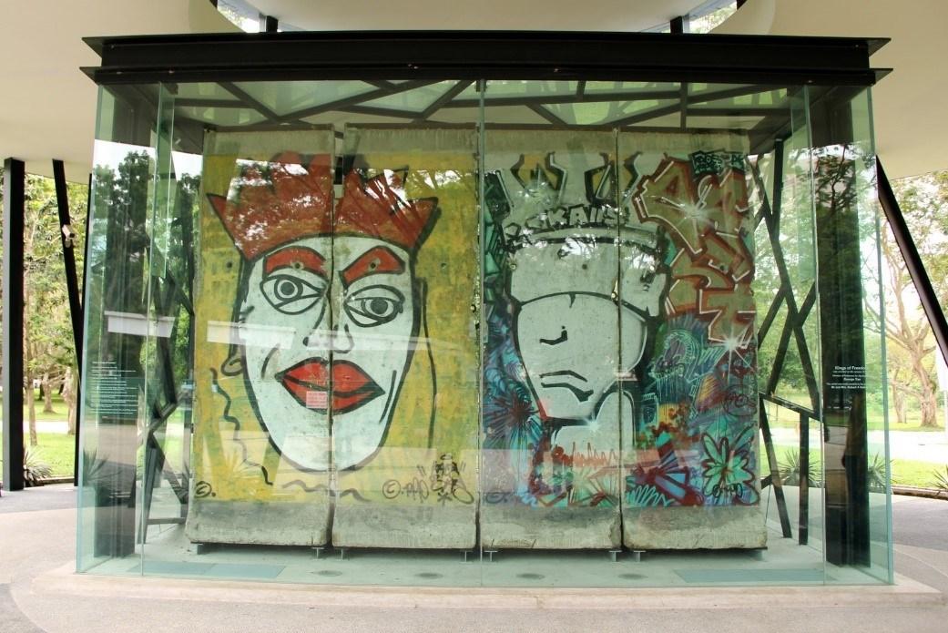Berlin Wall, Singapore