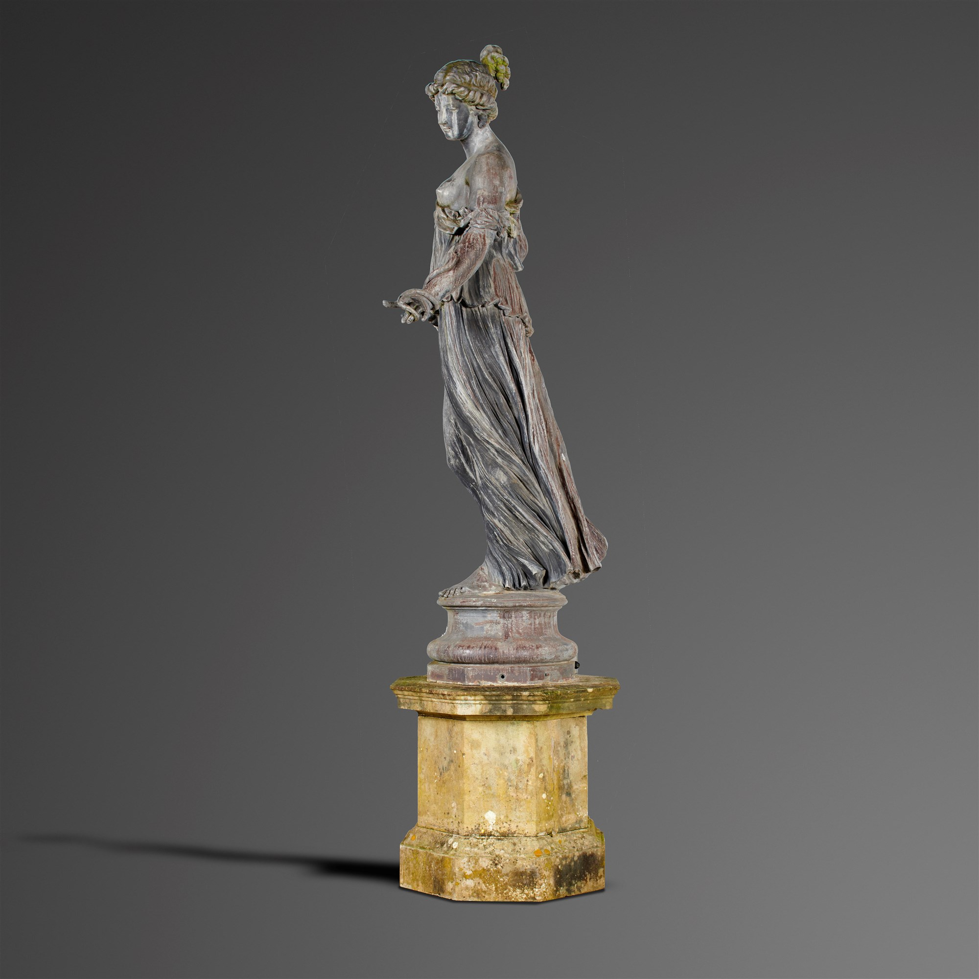 Lot 89 March - An early 20th century lead figure of Hygieia made by the Bromsgrove Guild. Sold for £39,000.